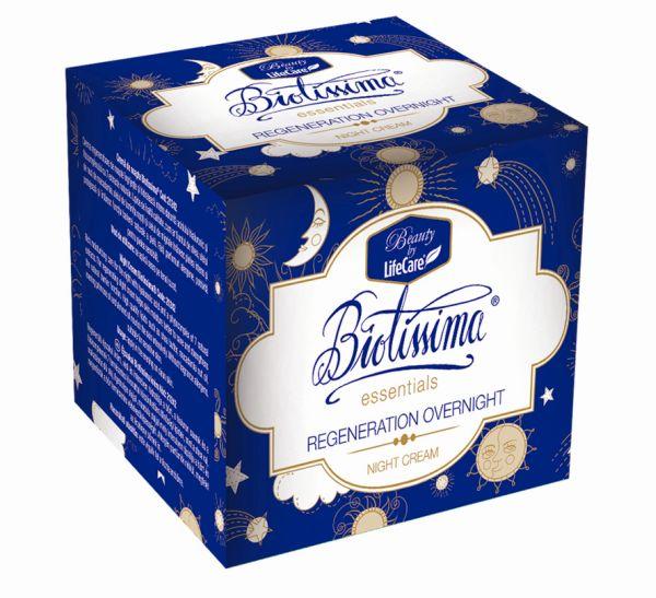 cutie-Crema de noapte Biotissima-regenerare peste noapte