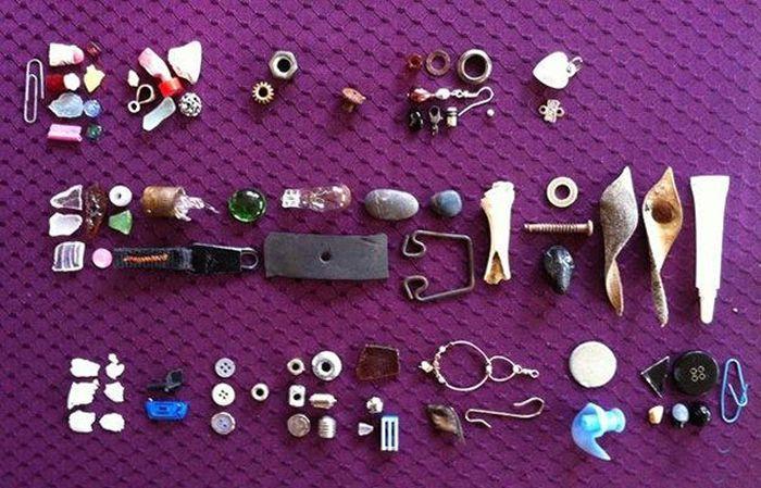 colectie obiecte gasite gabi mann