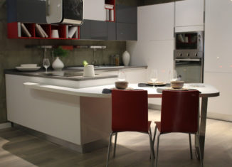 Bucătărie moderrnă în tendințele anului 2021