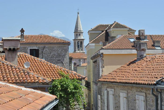 Imagine din orașul Budva